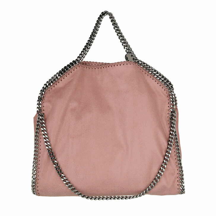 Handtasche, Stella McCartney, Falabella Shaggy Deer Fold Over Tote Pink