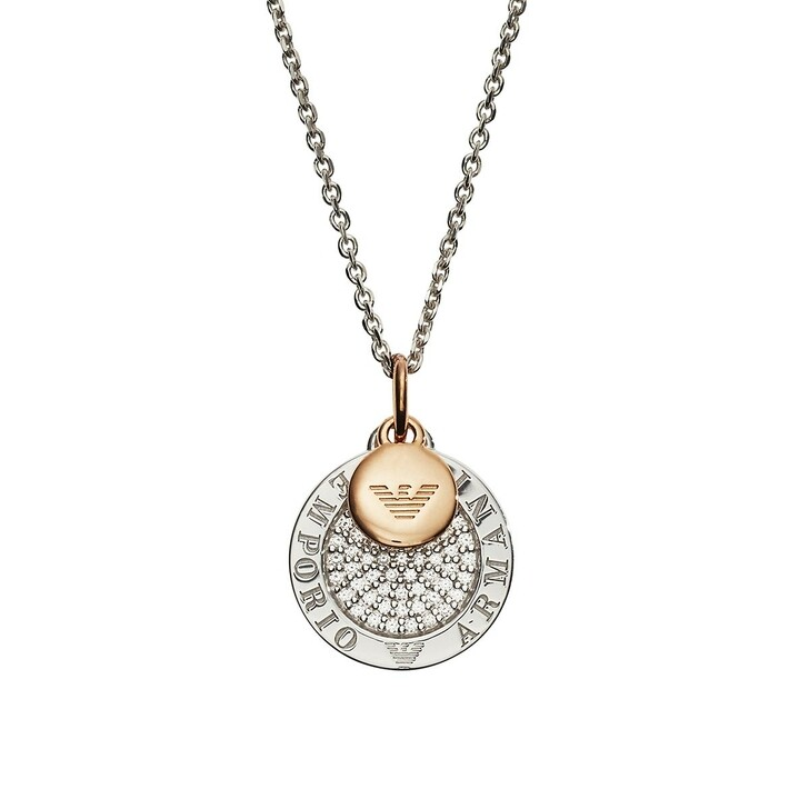 necklaces, Emporio Armani, EG3374040 Chain Roségold/Silver