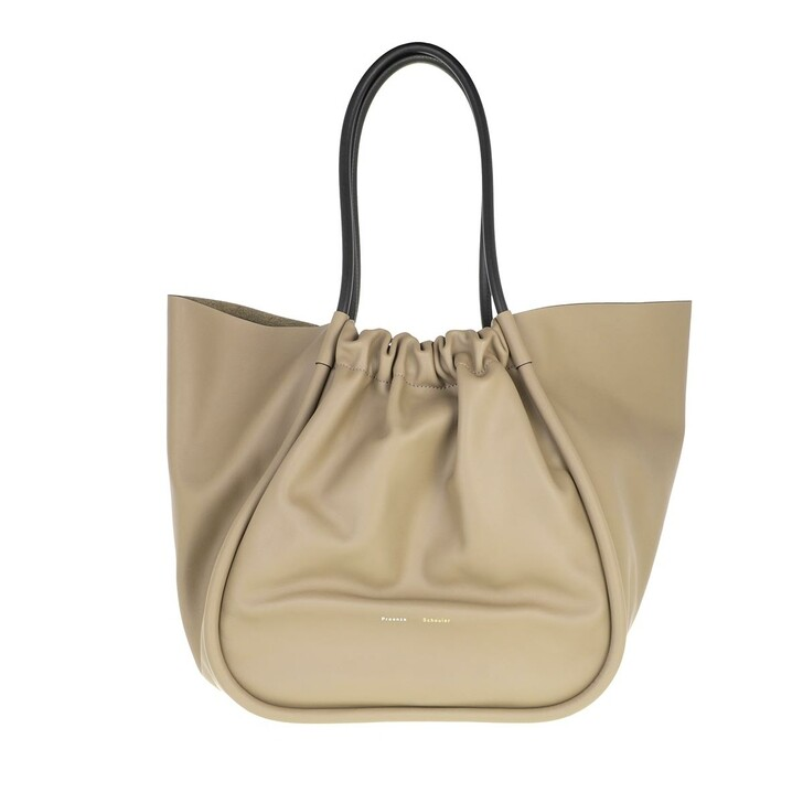 bags, Proenza Schouler, XL Ruched Tote Light Taupe
