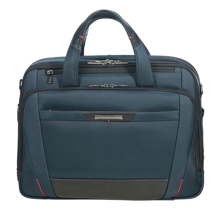 "Handtasche, Samsonite, Pro DLX 15,6"" Laptop Rolling Tote Bag Dark Blue"