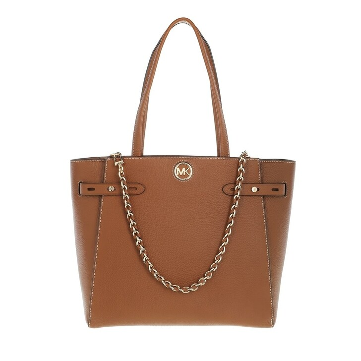 Handtasche, MICHAEL Michael Kors, Large Belted Tote  Leather Luggage