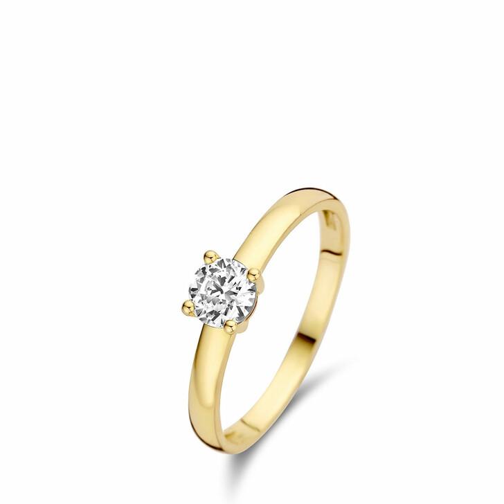 rings, Isabel Bernard, Le Marais Soleil 14 Karat Ring With Zirconia