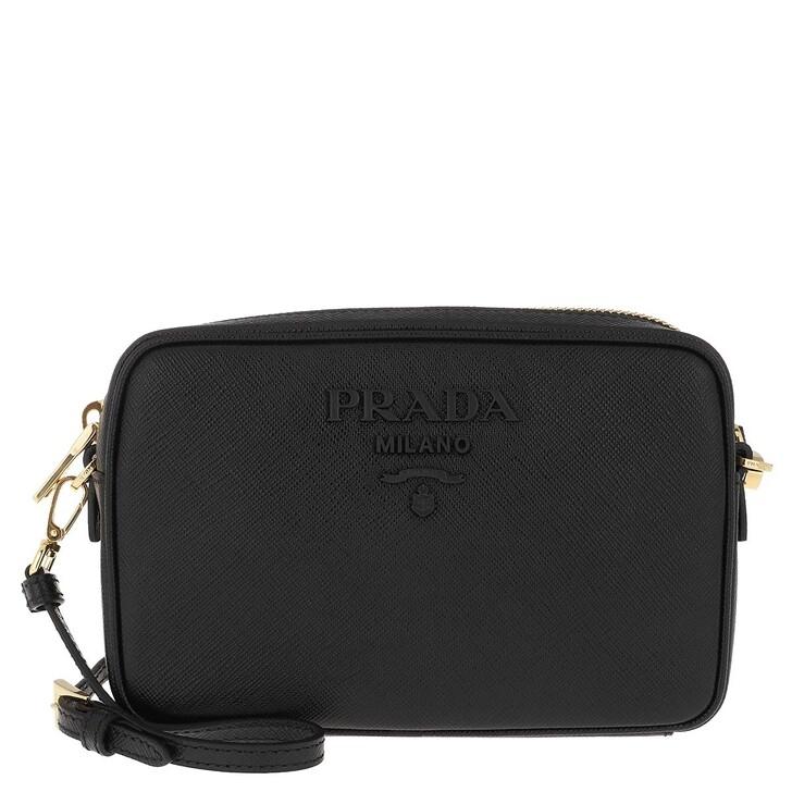 Handtasche, Prada, Crossbody Bag Medium Saffiano Leather Black