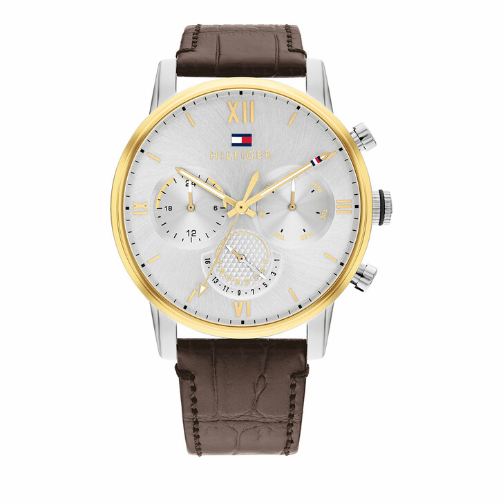 watches, Tommy Hilfiger, Watch Dress Brown