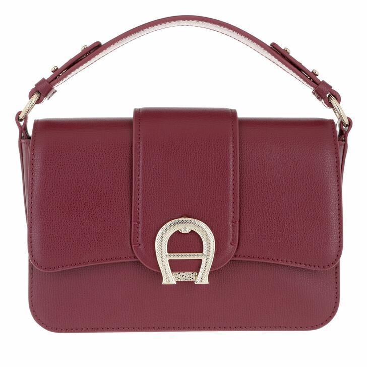 Handtasche, AIGNER, Handle Bag Burgundy