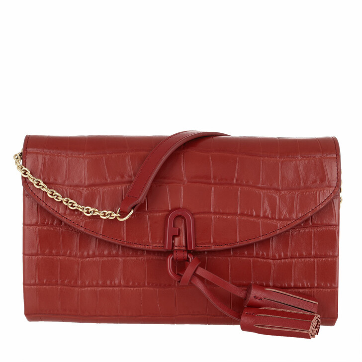 Handtasche, Furla, 1927 Mini Shoulder Bag Chili Oil