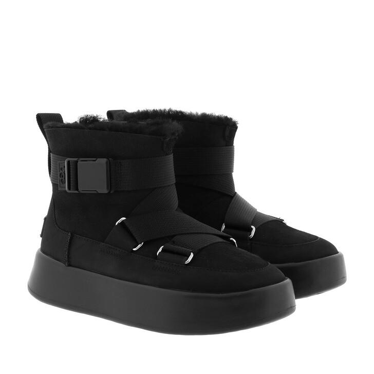 Schuh, UGG, W Classic Boom Buckle Black