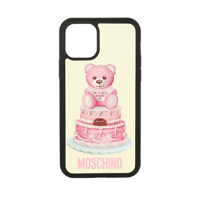 Smartphone/Tablet case (Case), Moschino, iPhone 11 Pro Cover Fantasia Fuxia