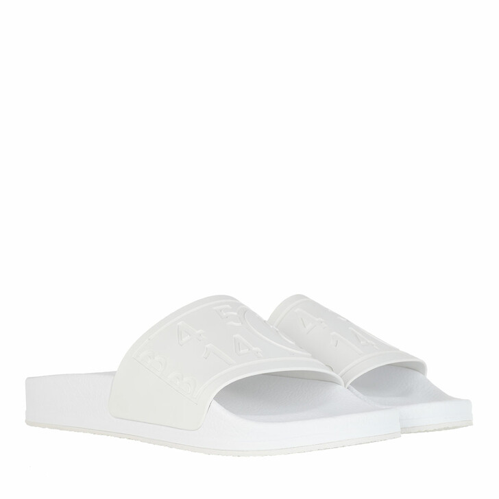 Schuh, MM6 Maison Margiela, Flats Matt TPU White