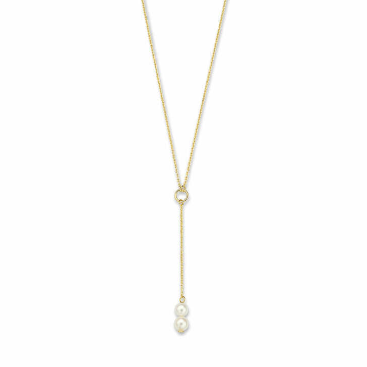 necklaces, Isabel Bernard, Belleville Luna 14 Karat Necklace With Freshwater  Gold