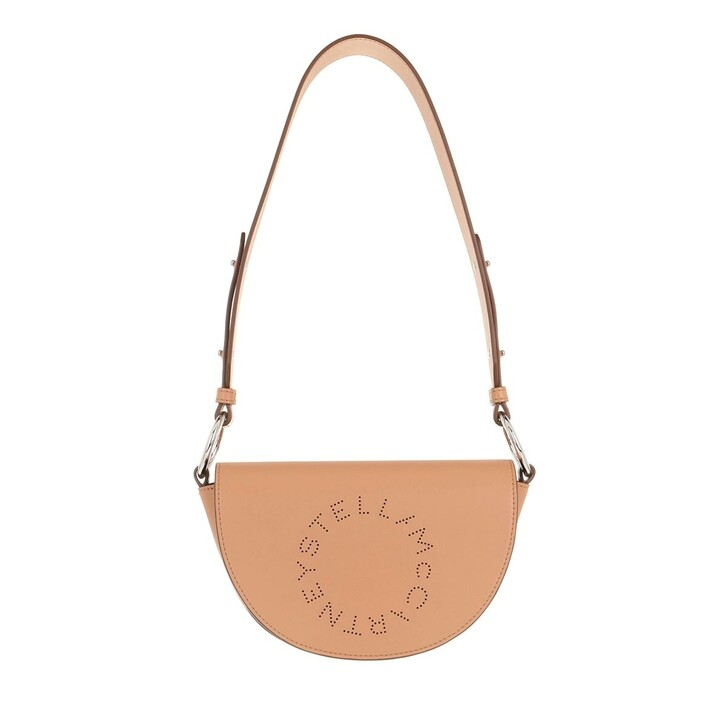 Handtasche, Stella McCartney, Flap Shoulder Bag Eco Soft Camel