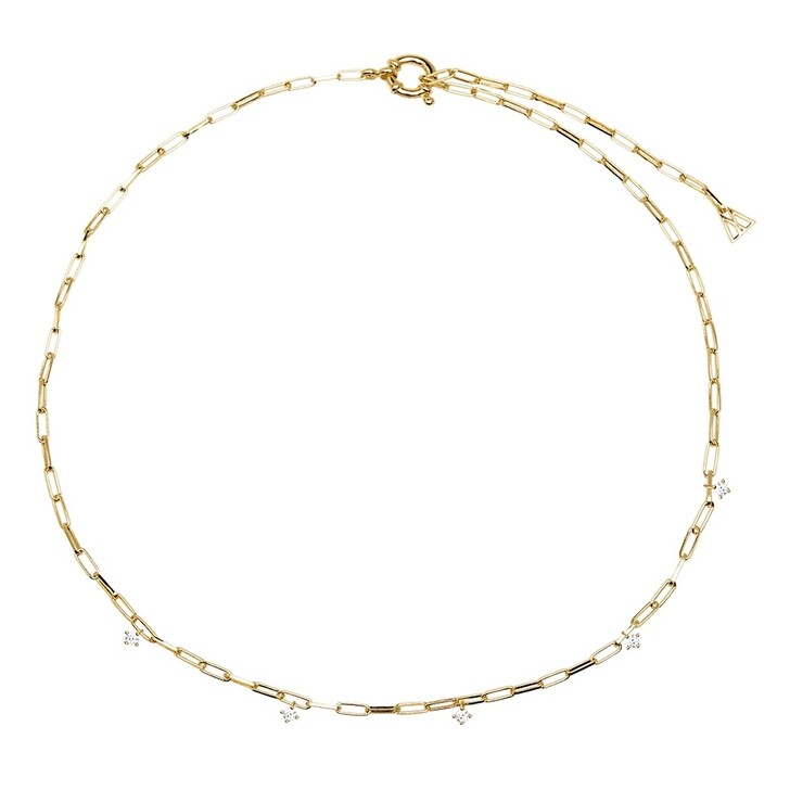 Kette, PDPAOLA, Gina Necklace Yellow Gold