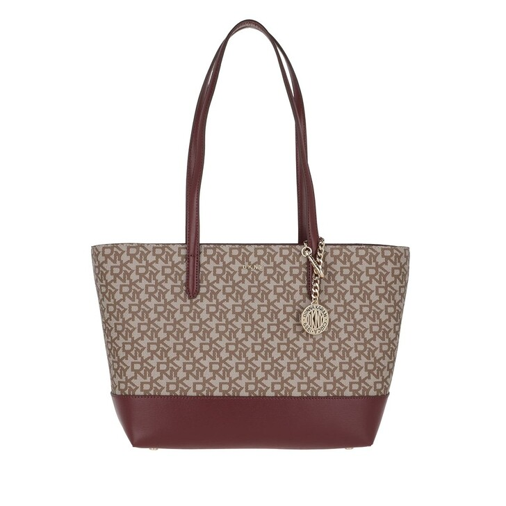 Handtasche, DKNY, Bryant Tote Bag Chino Logo/Aged Wine