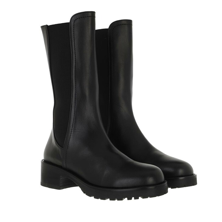 shoes, Patrizia Pepe, Biker Boots Nero