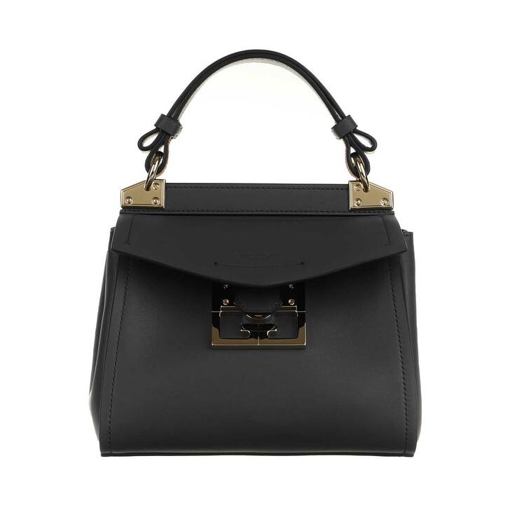 Handtasche, Givenchy, Mini Mystic Satchel Bag Leather Black