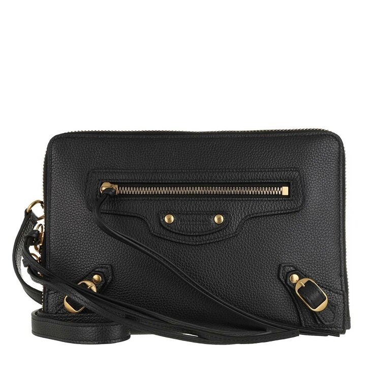 Handtasche, Balenciaga, Neo Classic Small Pouch Leather Black