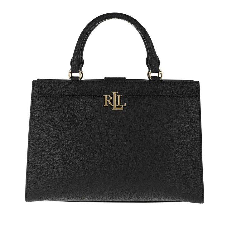 Handtasche, Lauren Ralph Lauren, Laine Satchel Medium Black