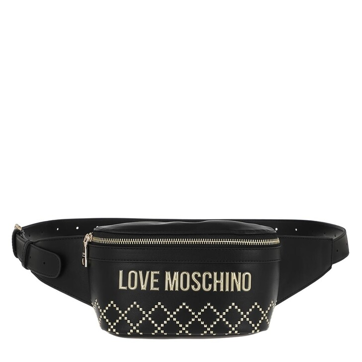 Gürteltasche, Love Moschino, Belt Bag Nero