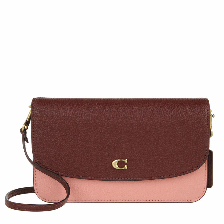 bags, Coach, Colorblock Hayden Crossbody Candy Pink