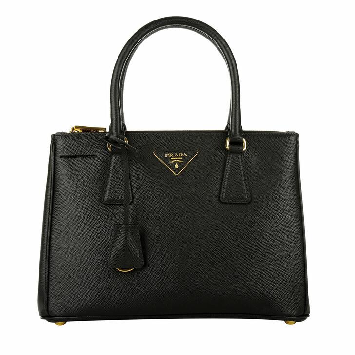 Handtasche, Prada, Galleria Tote Bag Saffiano Small Nero_