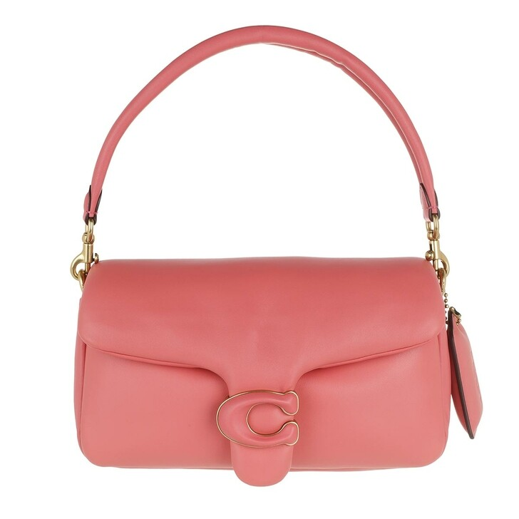 Handtasche, Coach, Leather Covered C Closure Pillow Tabby Shoulder Bag Taffy