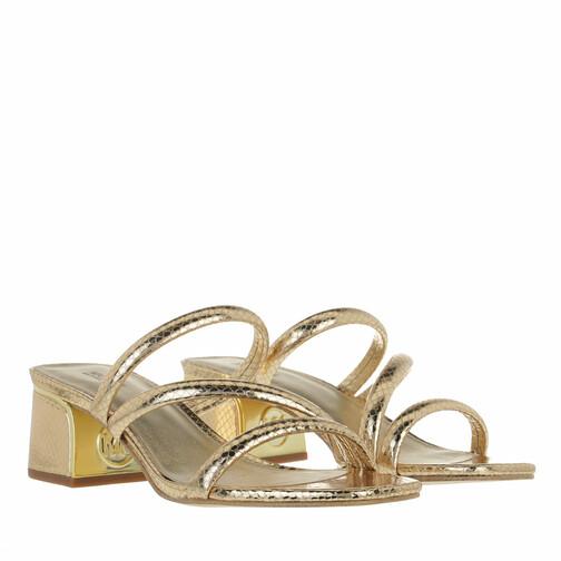 michael kors -  Loafers & Ballerinas - Lana Mule - in gold - für Damen