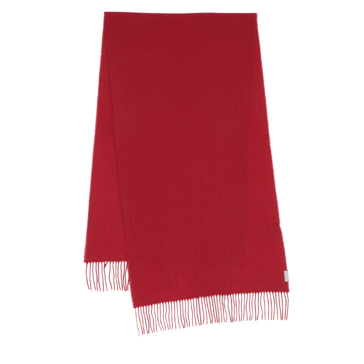 Schal, FRAAS, Cashmere Scarf Red