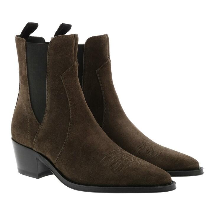 Schuh, Celine, Western Chelsea Boots Khaki