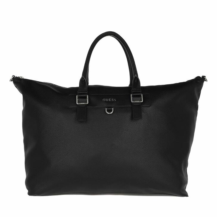 bags, Guess, Riviera Duffle Bag Black
