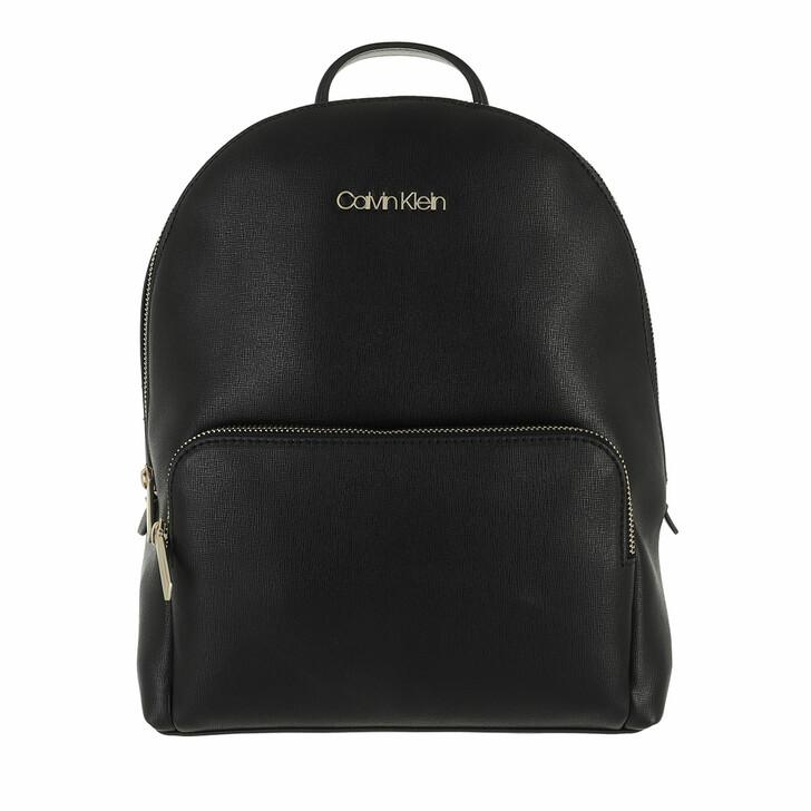 Reisetasche, Calvin Klein, Must Campus Backpack with Poet Medium Black