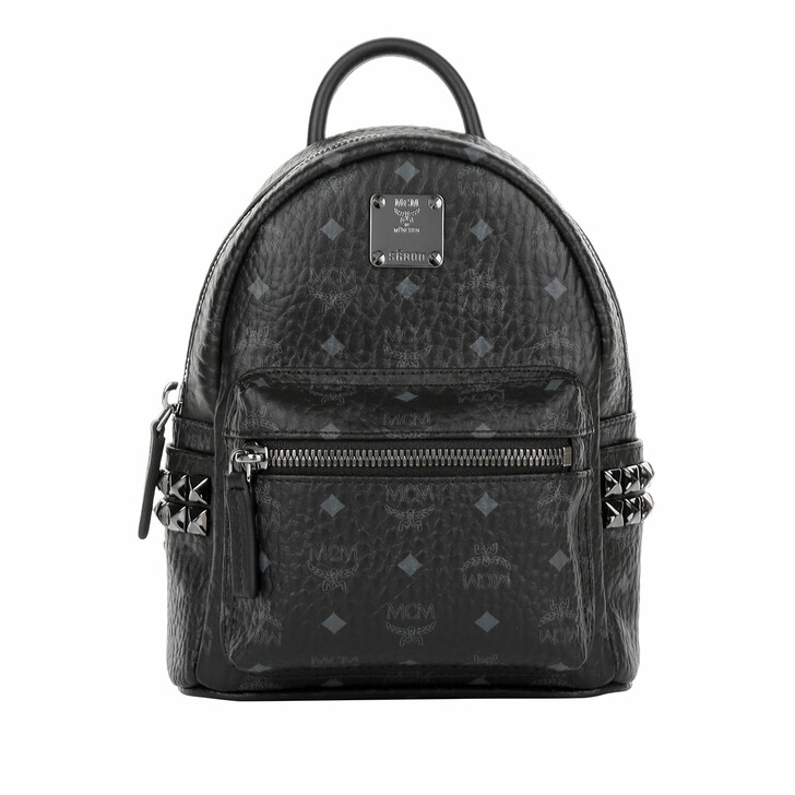 Reisetasche, MCM, Stark Backpack X-Mini Black