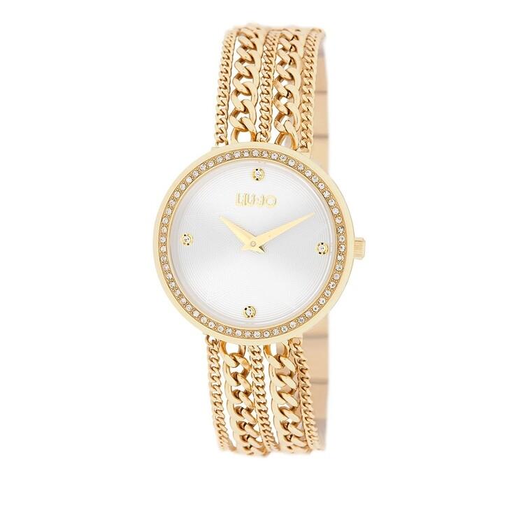 watches, LIU JO, TLJ1832 Chains Quartz Watch Yellow gold