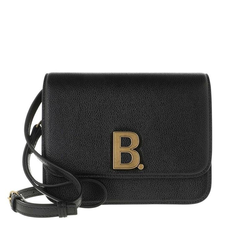 Handtasche, Balenciaga, Small B. Crossbody Bag Leather Black