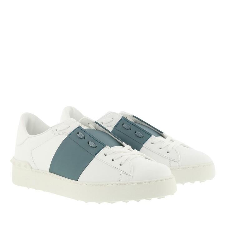 Schuh, Valentino Garavani, Open Sneakers Calfskin Bianco Amadeus