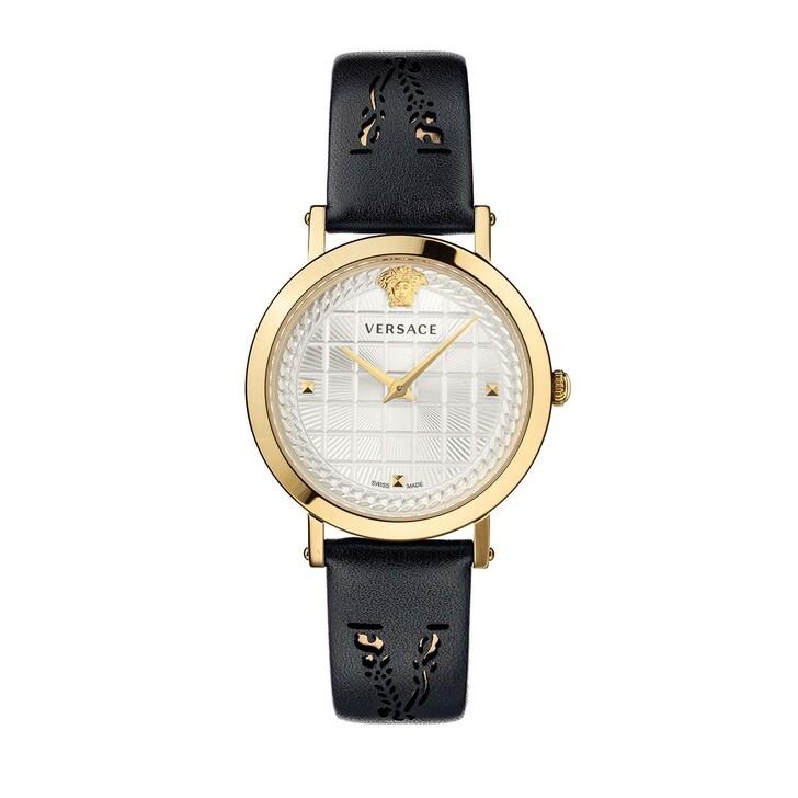 Uhr, Versace, Coin Icon Watch Black/Gold