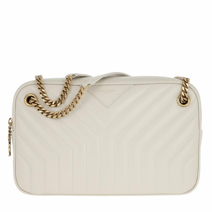 Handtasche, Saint Laurent, Joan Camera Bag Crema Soft
