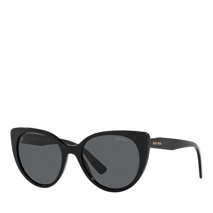 sunglasses, Miu Miu, 0MU 04XS BLACK