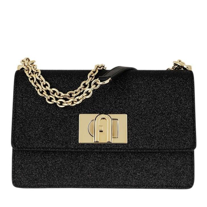 Handtasche, Furla, 1927 Mini Crossbody Bag Black