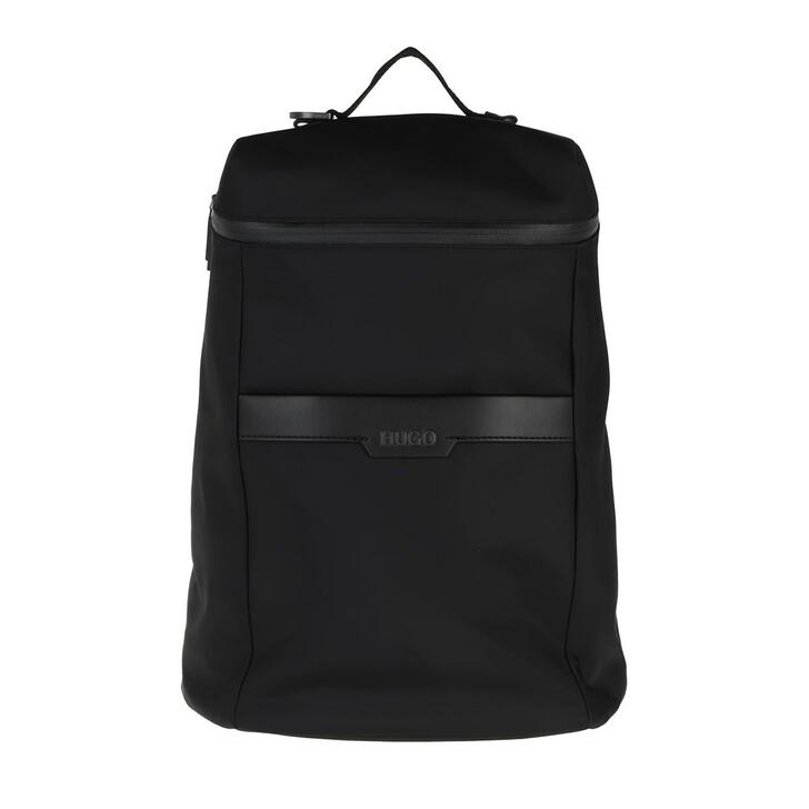 Handtasche, Hugo, Luxown Backpack  Black