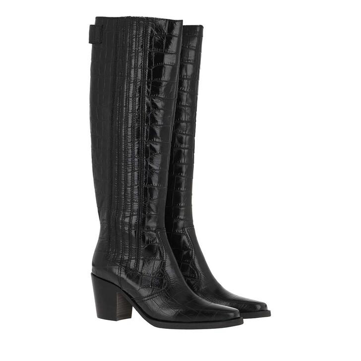 Schuh, GANNI, Boots Black