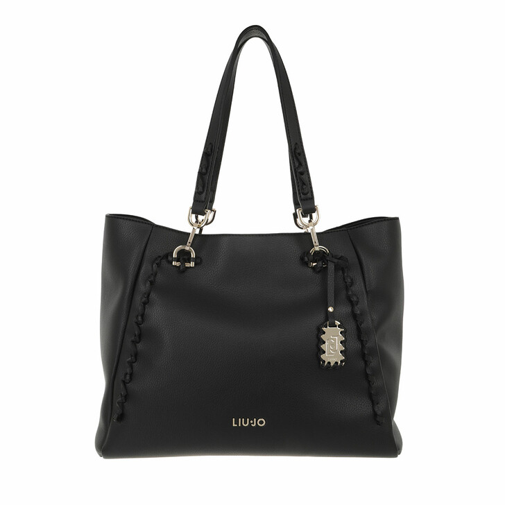 bags, LIU JO, L Tote Black