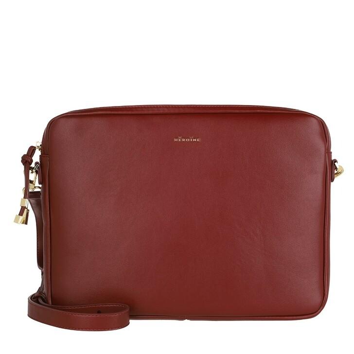 Handtasche, Maison Hēroïne, Jamie 13'' Laptop Bag Bordeaux