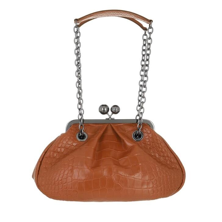 bags, WEEKEND Max Mara, Ovatta Handbag Tobacco