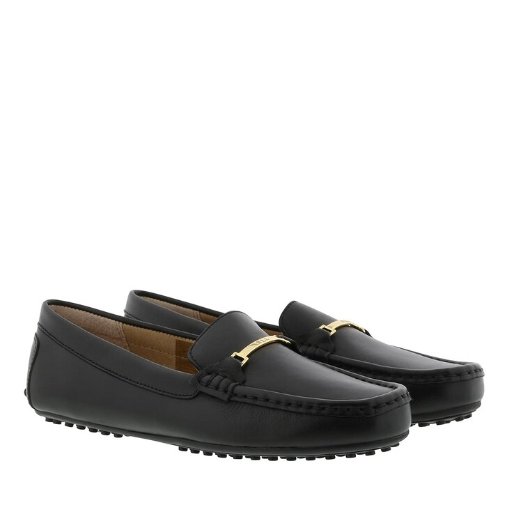 Schuh, Lauren Ralph Lauren, Briony Casual Flats Leather Black