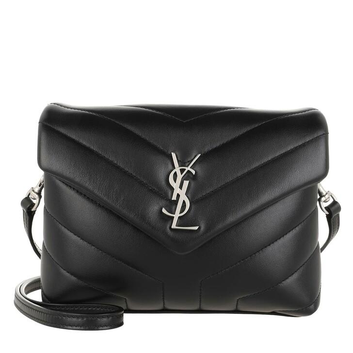 Handtasche, Saint Laurent, LouLou Toy Mini Crossbody Bag Nero
