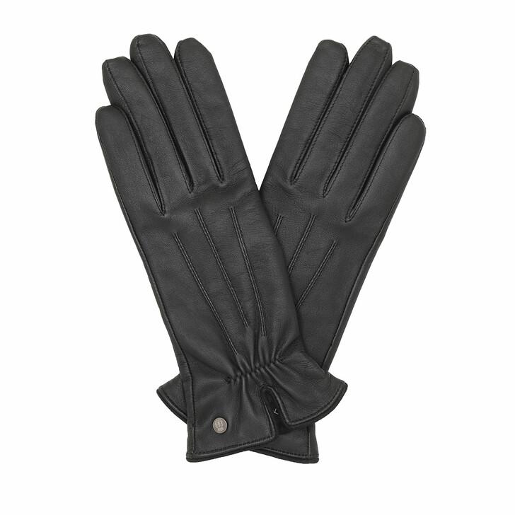 Handschuh, Roeckl, Klassiker gerafft Black