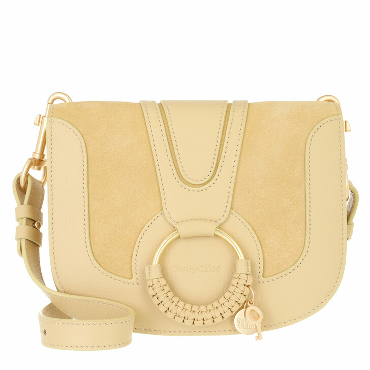 bags, See By Chloé, Hana Crossbody Suede Smooth Seed Brown
