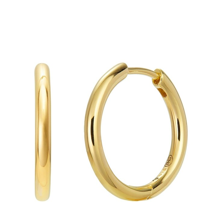 Ohrring, BELORO, Earring Hoop Yellow Gold