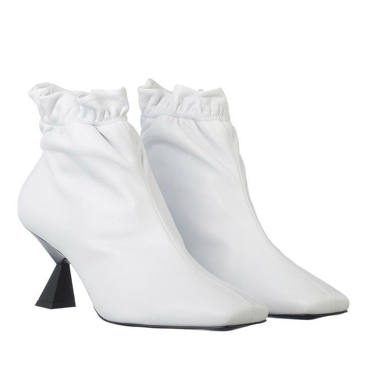Schuh, Givenchy, Bootie Leather White