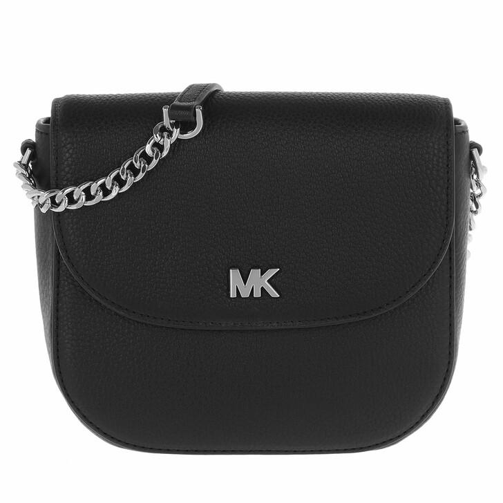 Handtasche, MICHAEL Michael Kors, Half Dome Crossbody Bag Black